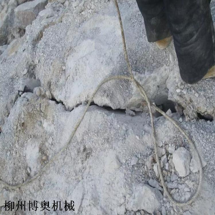 機載劈裂機開石灰石效率高