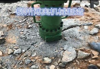 巖石劈裂機的價格及使用、保存方法