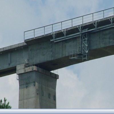 18米橋梁檢測特種作業車