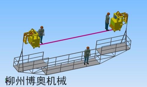 桥梁检测挂篮