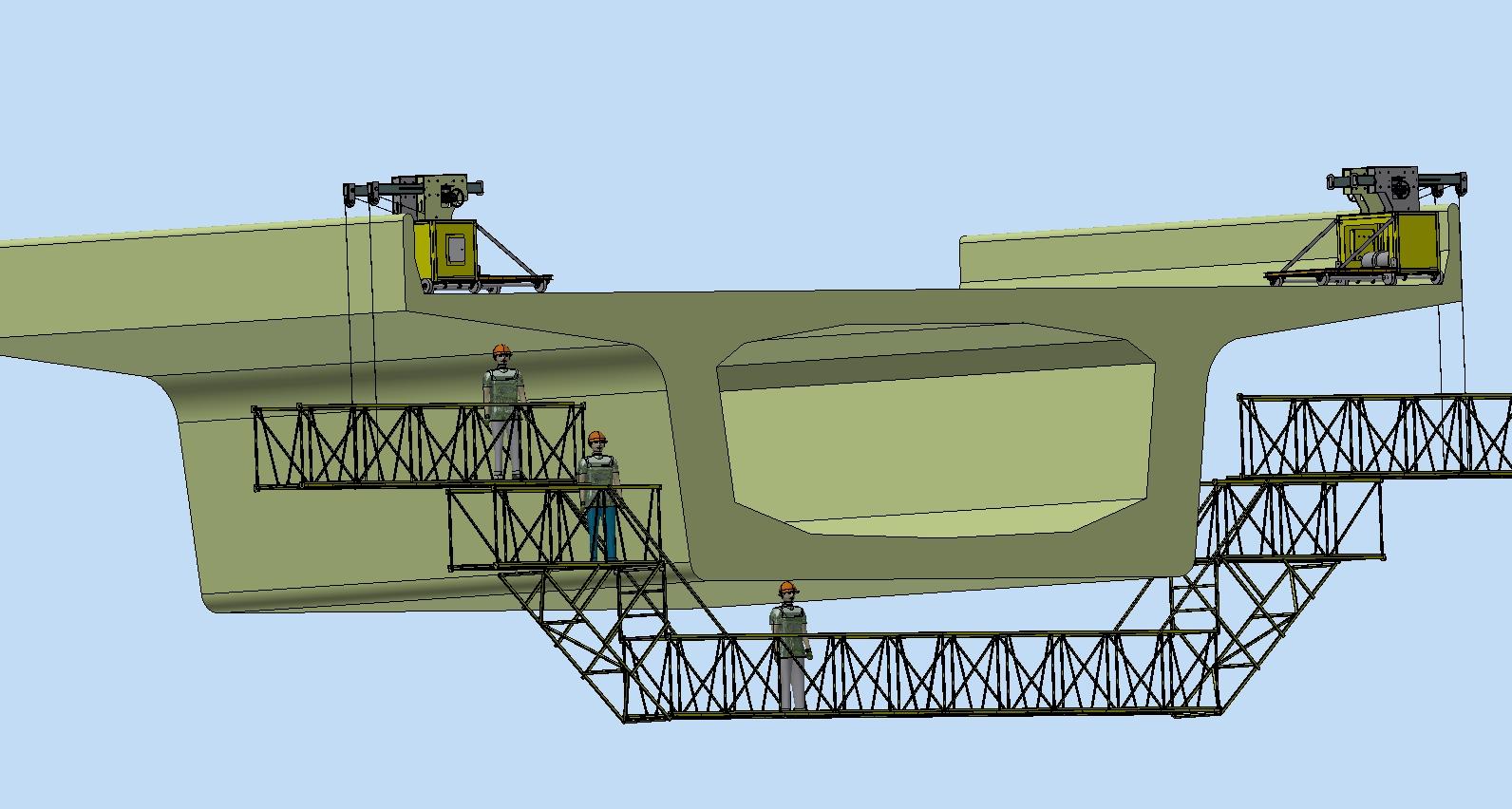 橋梁噴沙/噴漆/新型博奧橋梁檢測車