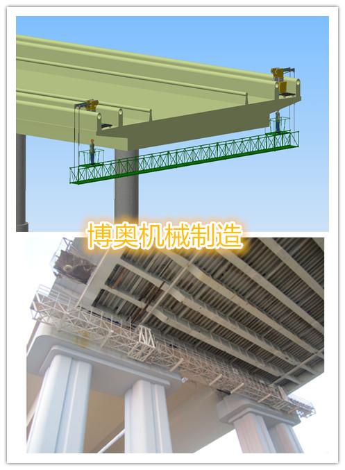 新型桥梁检测车C位上市,来谈谈它的结构/规格/价格