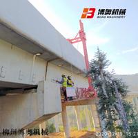 橋梁PVC排水管安裝設備
