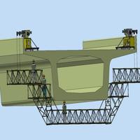 20米橋梁檢測車/橋梁維護車