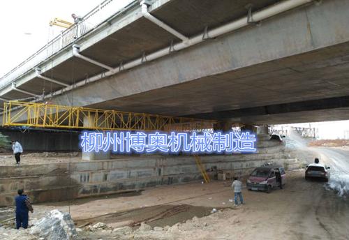 詳細介紹博奧新型橋梁檢測車的構造和使用方法