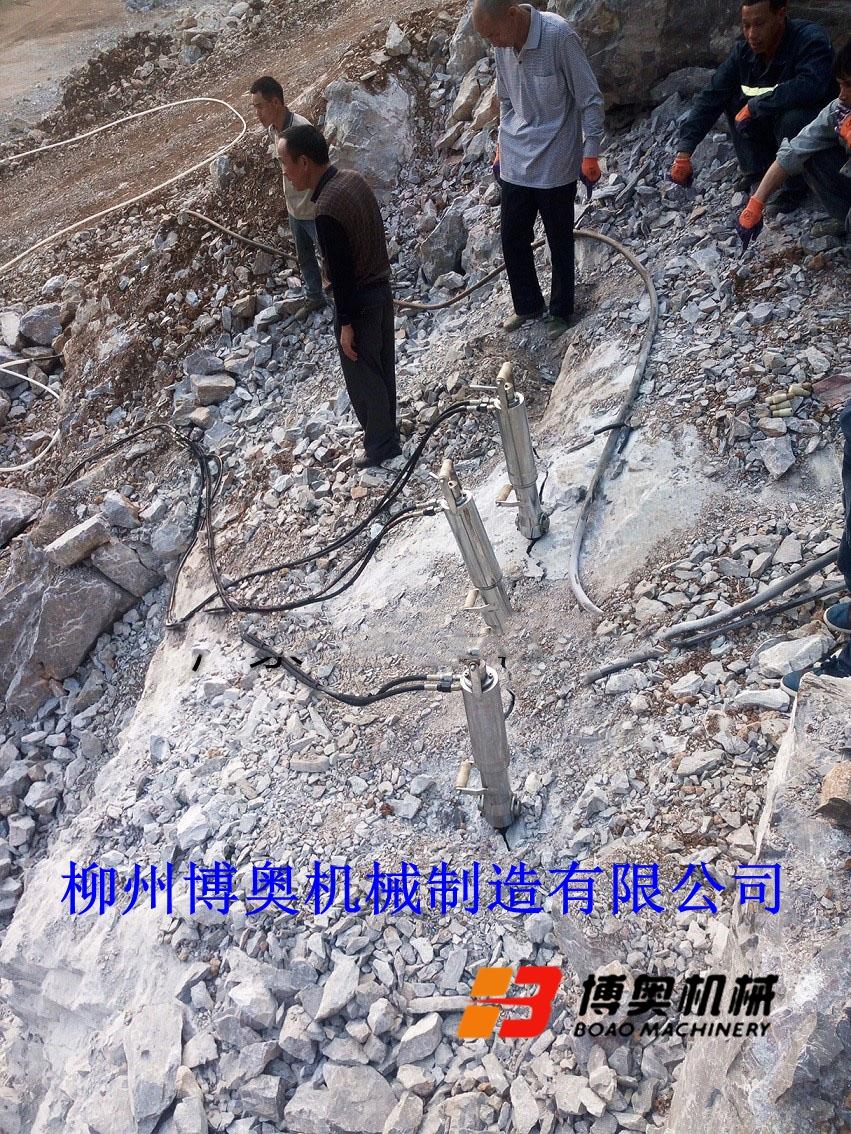 博奥静态破石设备岩石劈裂机