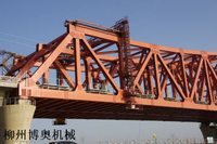 鋼桁架橋梁上弦檢查小車