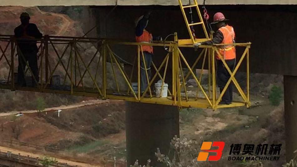 桥梁施工平台