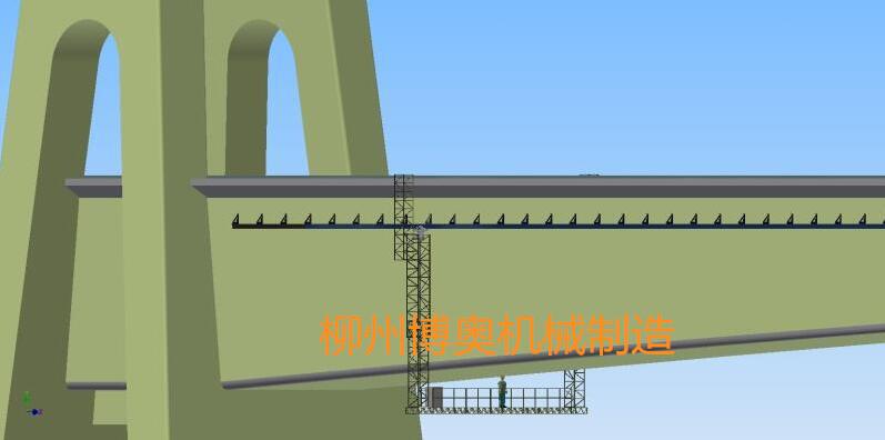 桥梁检测车定制型