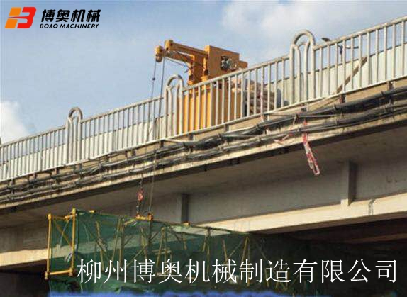 桥梁PVC排水管道安装高空作业施工平台设备