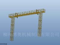 承接定制钢桁架桥梁上下弦检查小车方案介绍说明