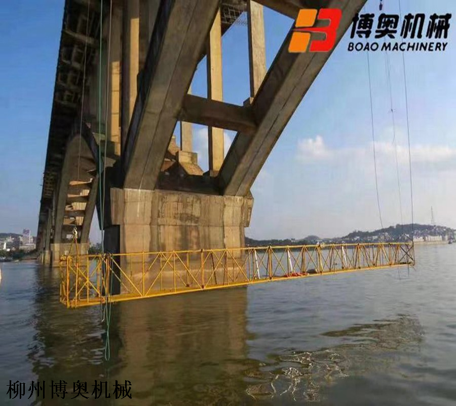 桥梁检修平台行走车