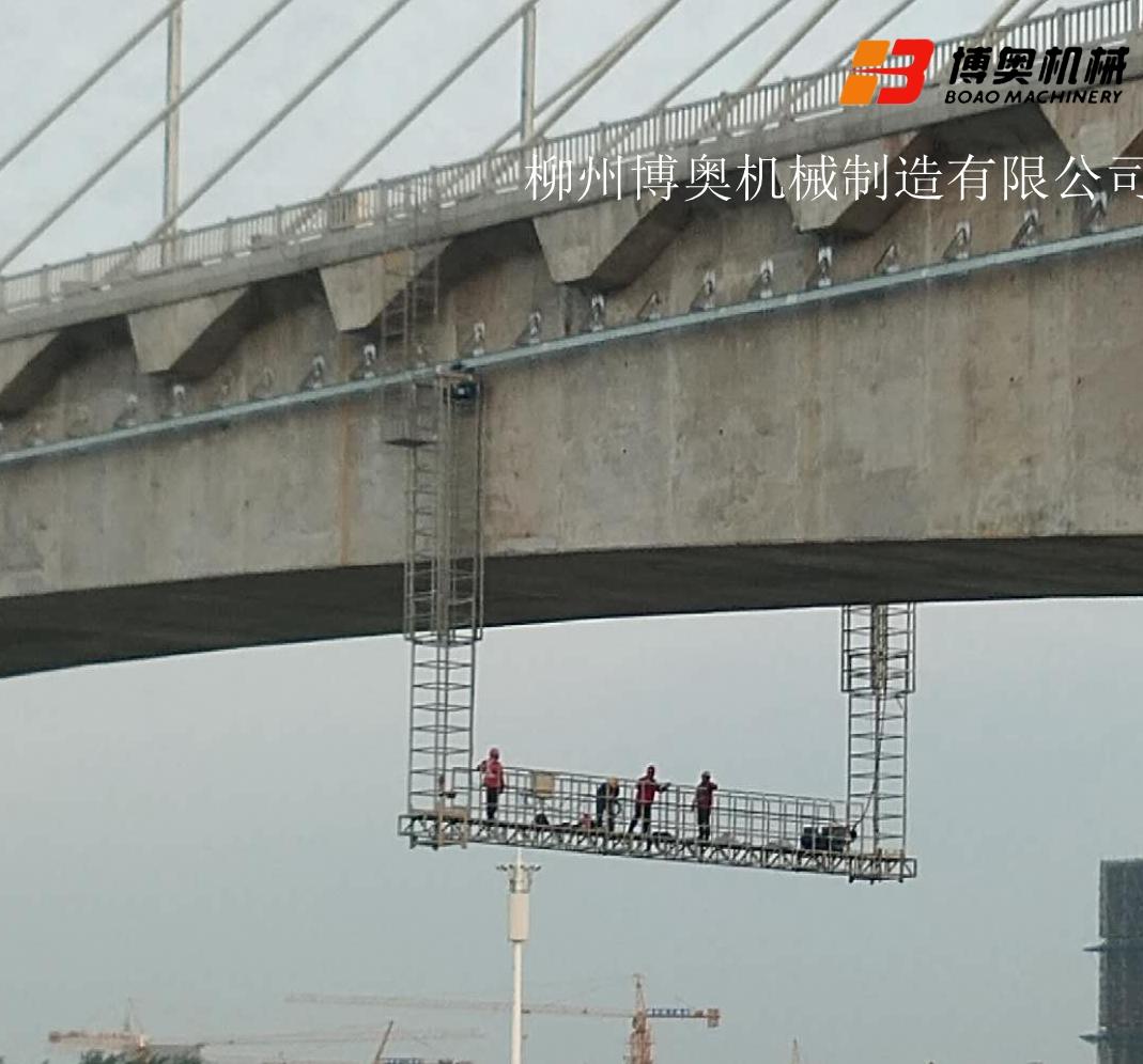 桥梁检查小车