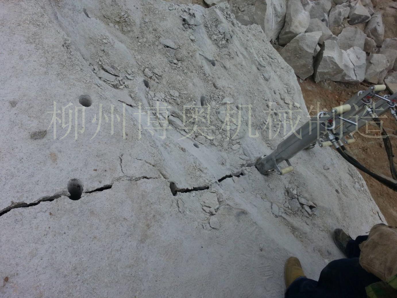 花岗岩破石劈裂机