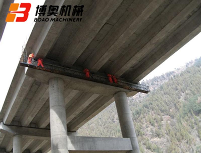 博奥定制型桥梁检测车出具多项检测报告更安全的高空作业设备