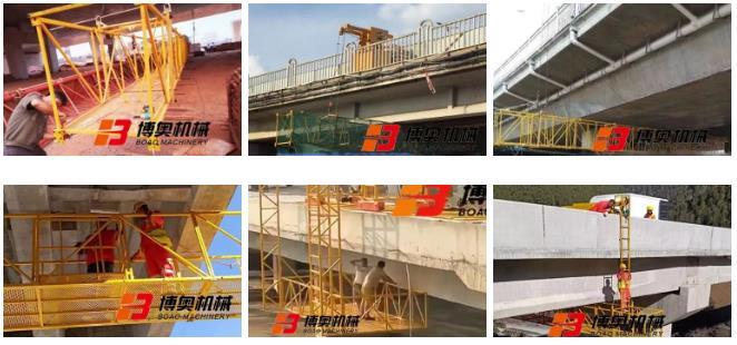 博奧定制型橋梁檢修設備發揮不可替代的作用