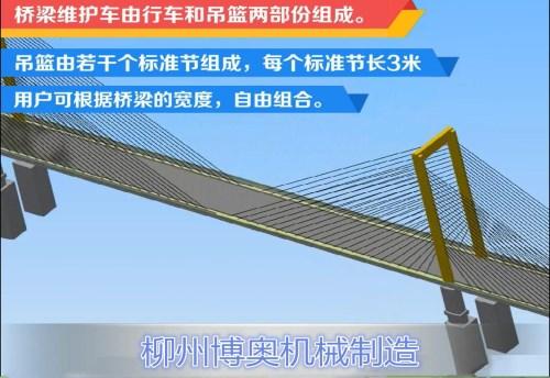 擺脫龐大身軀,便捷輕巧高效檢測橋梁----新型橋梁檢測車!